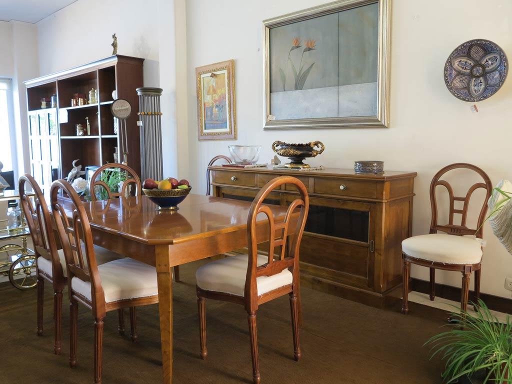 Comedor madera maciza muebles arribas for Muebles valenti catalogo