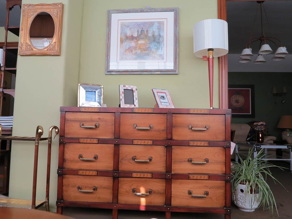 Mueble 9 cajones muebles arribas for Muebles valenti catalogo