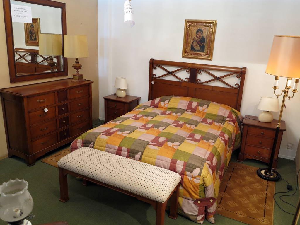 Dormitorio completo cerezo muebles arribas for Muebles valenti catalogo
