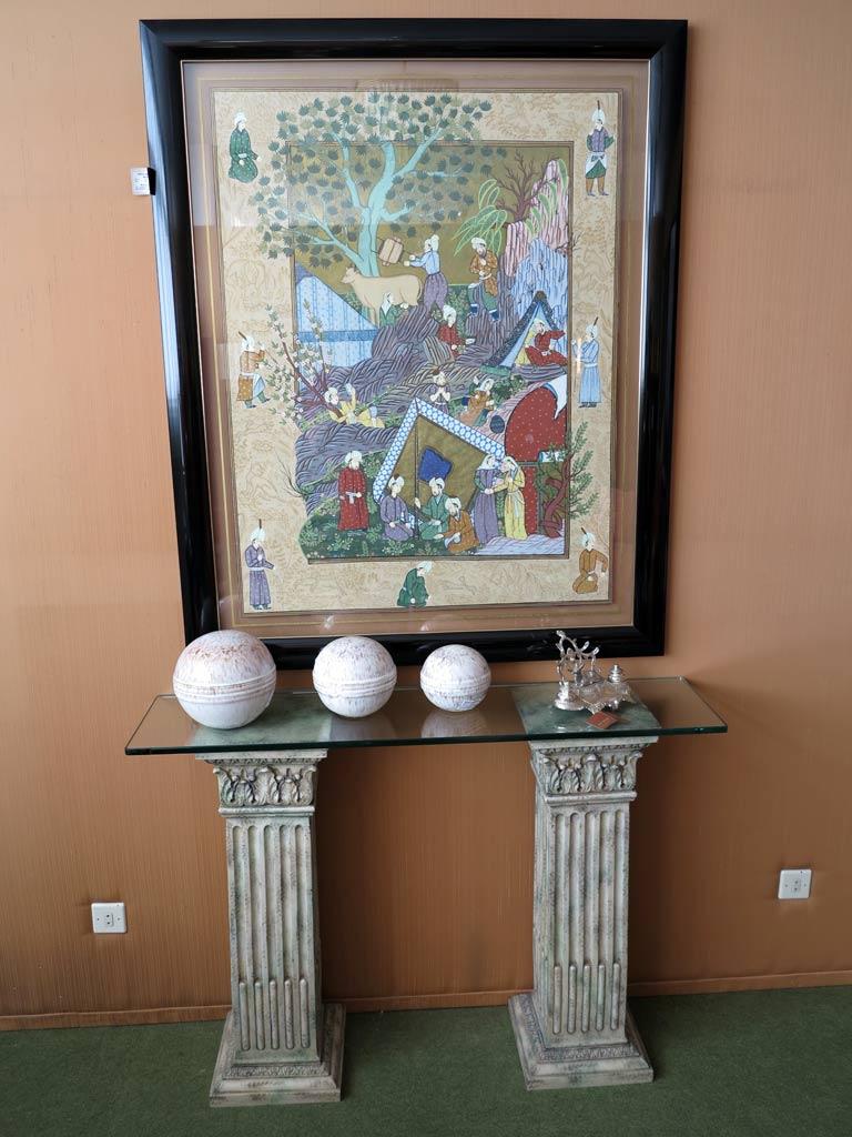 Consola cristal muebles arribas for Muebles valenti catalogo