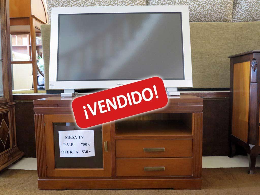 Mueble tv cerezo muebles arribas for Muebles valenti catalogo