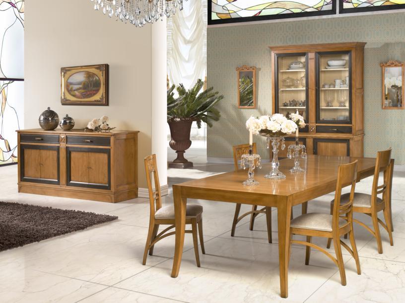 Comedor completo 9053z muebles arribas for Salon comedor completo