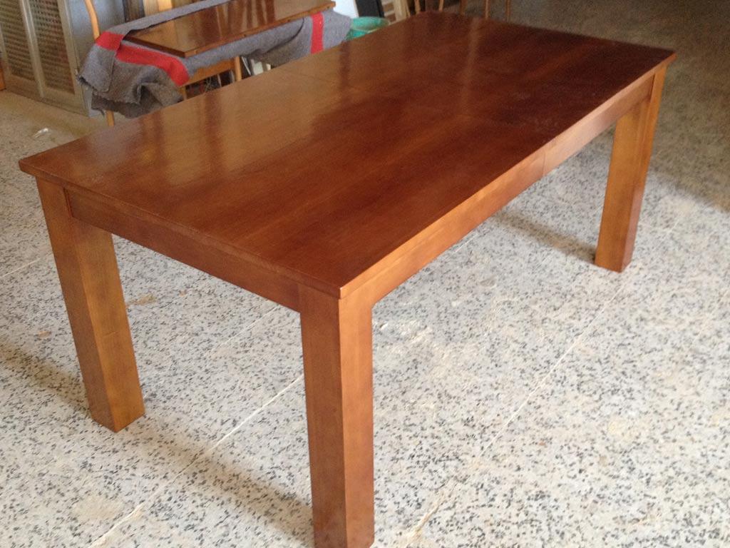 Mesa de pino a medida muebles arribas - Mesa de pino ...