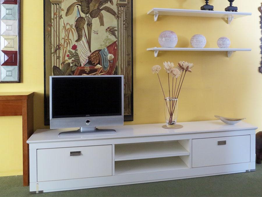 Mueble modular blanco muebles arribas for Mueble modular blanco