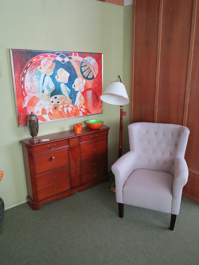 Conjunto c moda sill n muebles arribas for Muebles valenti catalogo