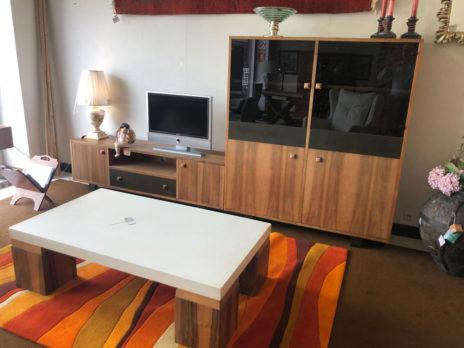 Muebles Arribas Segovia · Salón madera de nogal