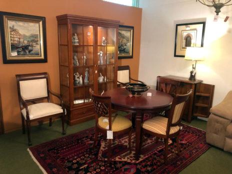 Muebles Arribas Segovia · Salón madera comedor