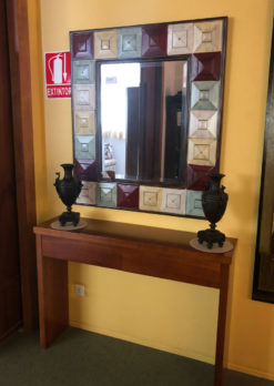 Muebles Arribas Segovia · Consola y Espejo